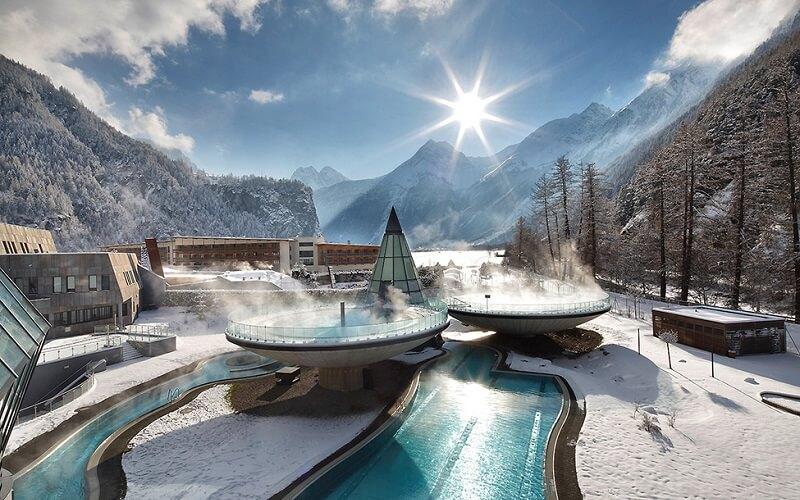 горнолыжный курорт в Австрии