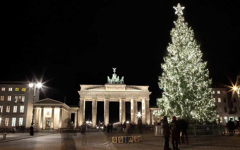 ёлка в Берлине