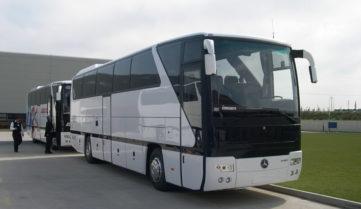 Починаючи з грудня із Києва до Москви поїдемо фірмовим автобусним рейсом!