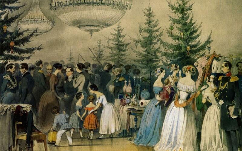 новогоднее празднование в древности