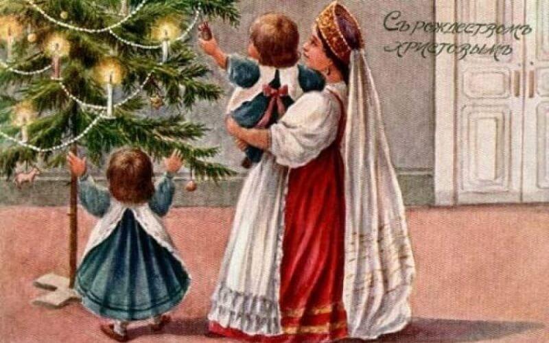 традиции украшения ёлки на Новый год
