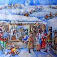 Славянские традиции новогодних праздников