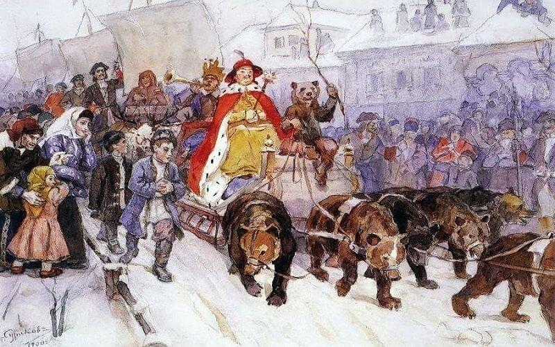 Празднование Нового года на Древней Руси
