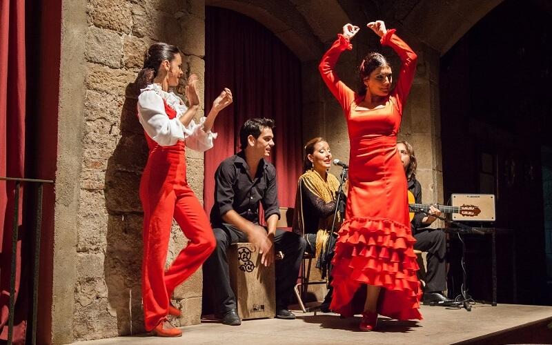 танец фламенко в Испании