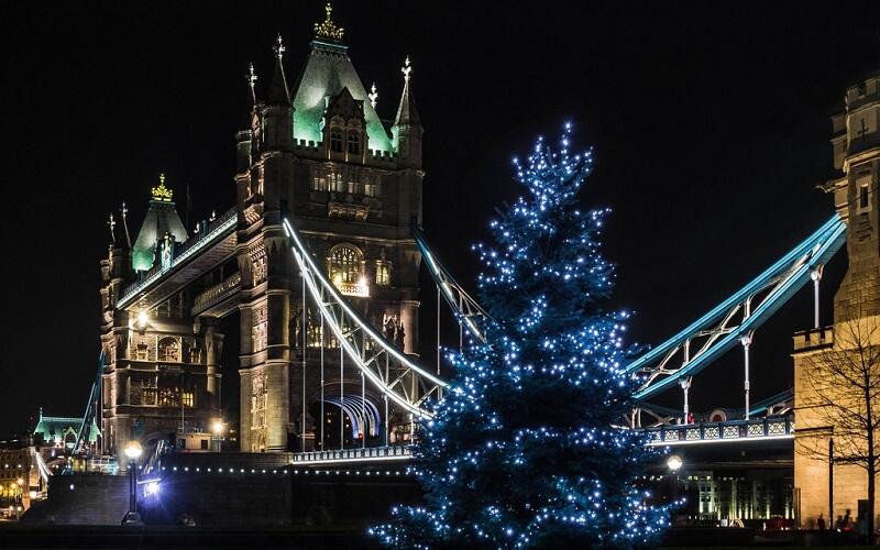 Рождественская ёлка в Лондоне