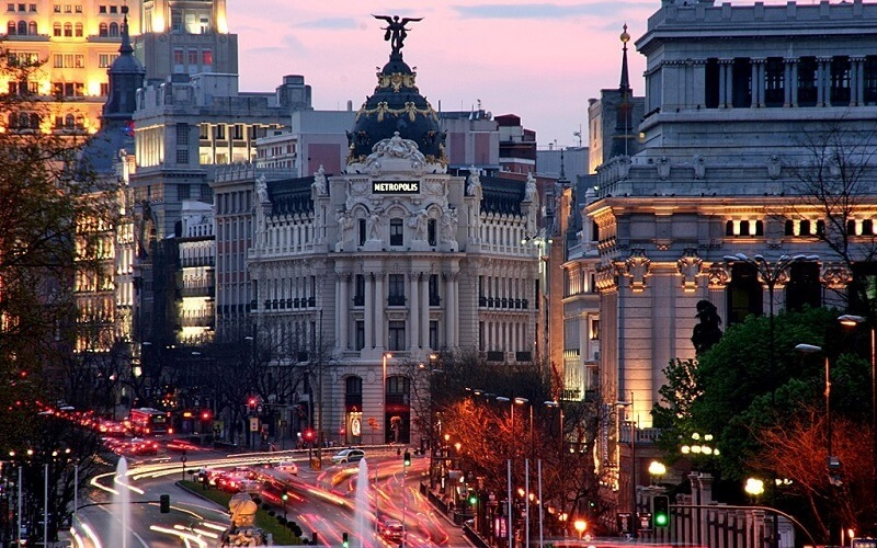отдых в Мадриде, Испания