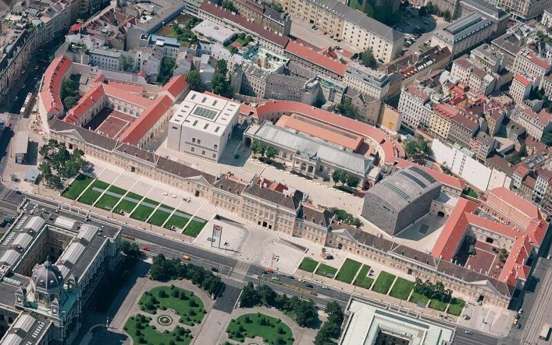 Музейный квартал в Вене, Австрия