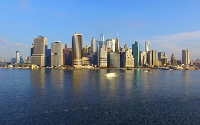 перелет в Нью-Йорк