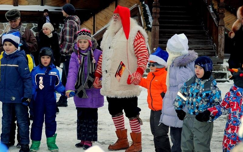 Дед Мороз в Норвегии