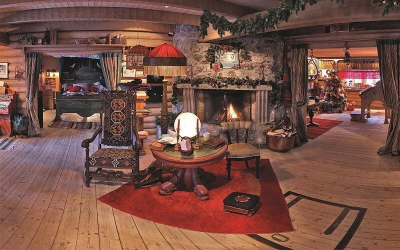 всередині резиденції норвезького Діда Мороза