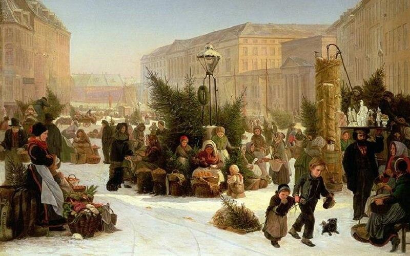 празднование Нового года в Российской Империи