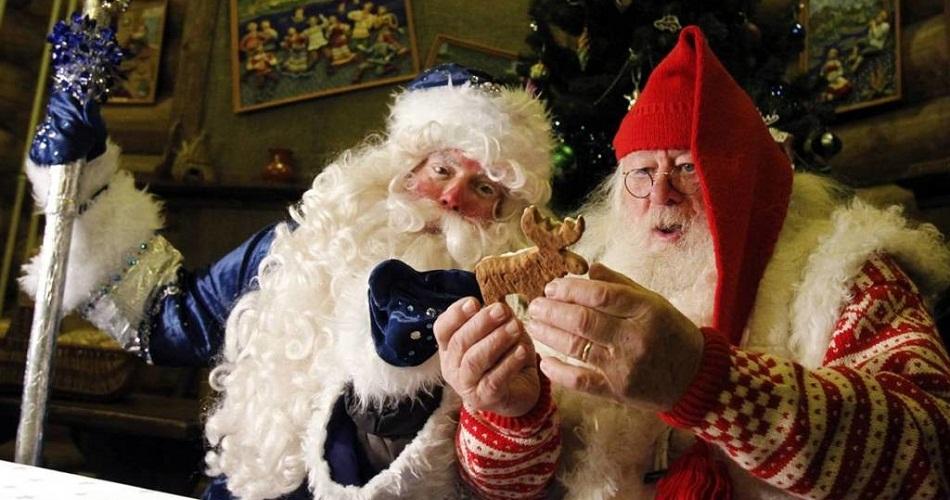 Резиденции Деда Мороза и Санта Клауса