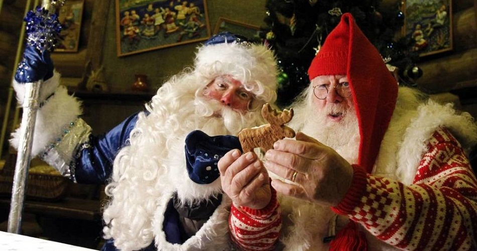 Резиденції Діда Мороза та Санта Клауса
