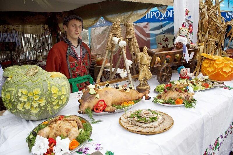 Фестиваль еды в Полтаве