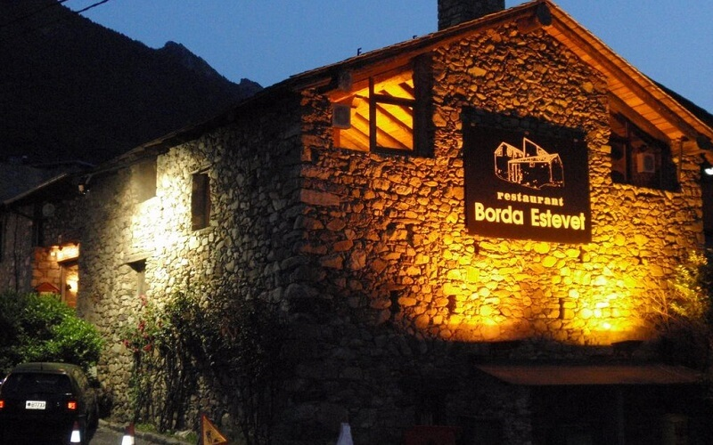 ресторан Borda Estevet в Андорре-ла-Велья