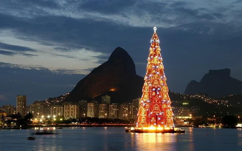 ёлка в Рио-де-Жанейро, Бразилия