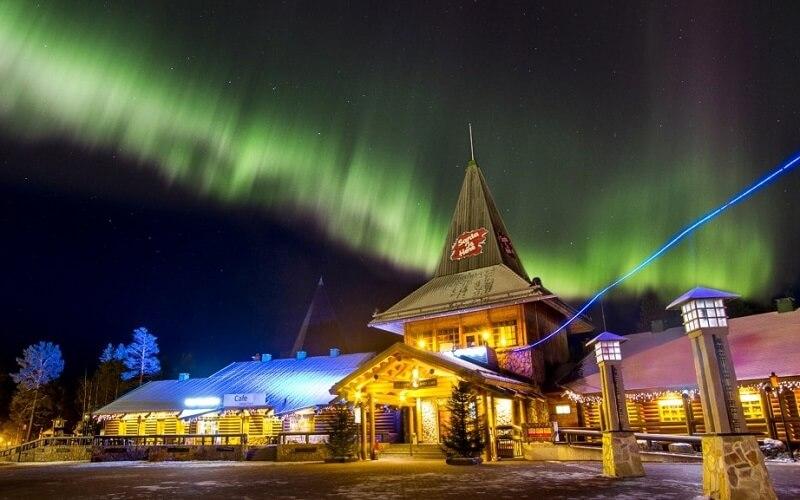 резиденций Санта Клауса в Финляндии