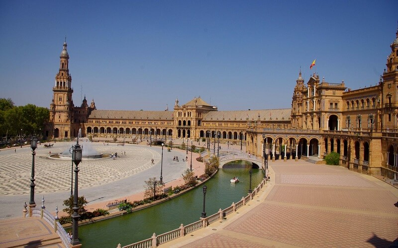 дворец в Севильи, Испания