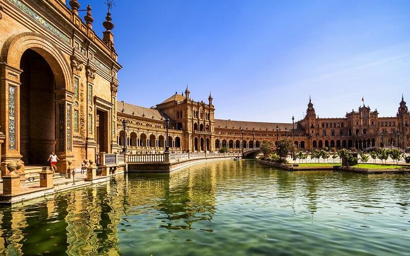 архитектура в Севильи, Испания