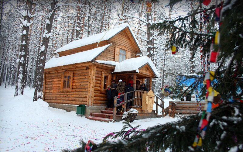 резиденция в заповеднике «Томская Писаница»
