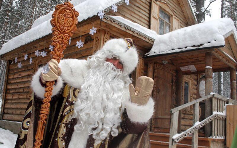 Дід Мороз в Томську