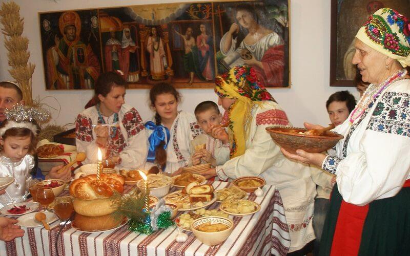 традиции празднования Нового года в Украине