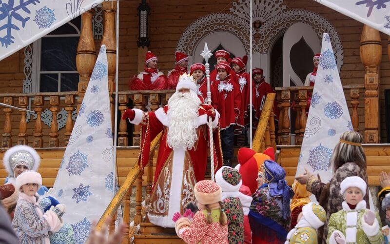 Дед Мороз в Москве
