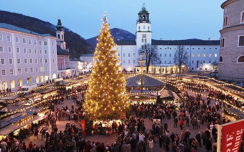 рождественская ярмарка в Зальцбурге