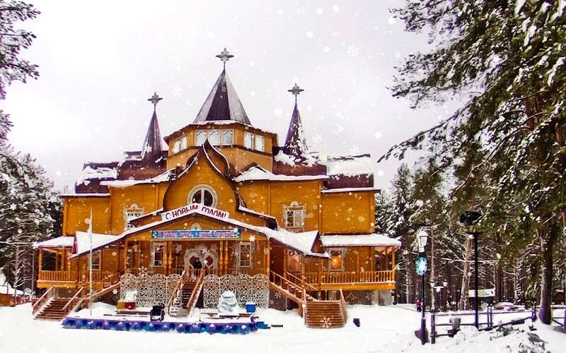 Великий Устюг резиденция Деда Мороза в России