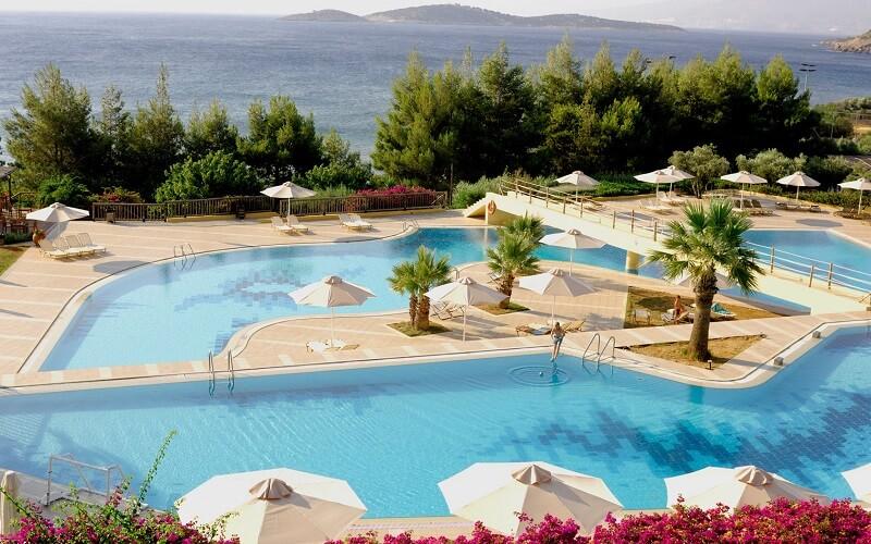территория отеля Candia Park Village 4*, Греция, о. Крит