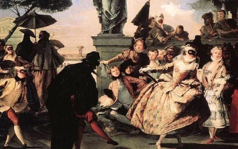 історія венеціанського карнавалу