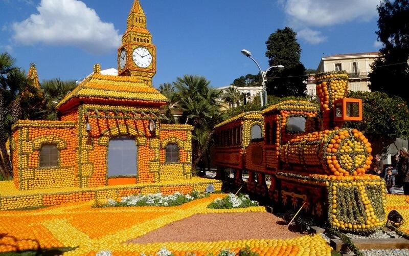 фестиваль лимонов в Метоне
