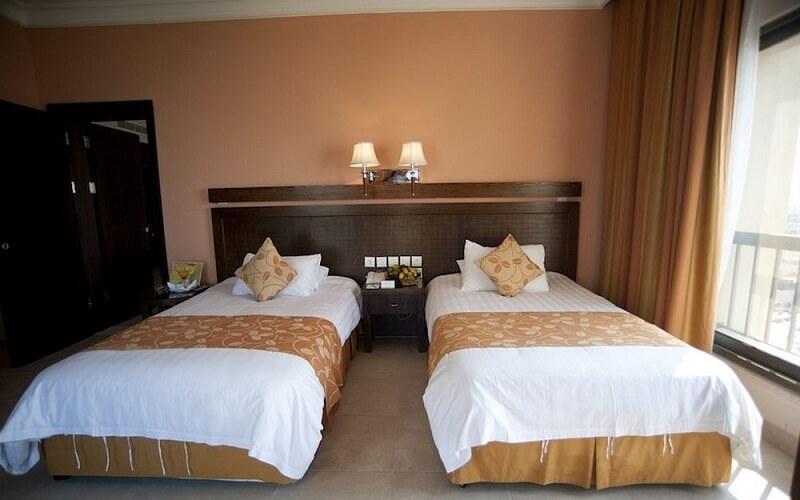 номер в отеле Dead Sea Spa Hotel 4*, Мертвое море (Иордания)