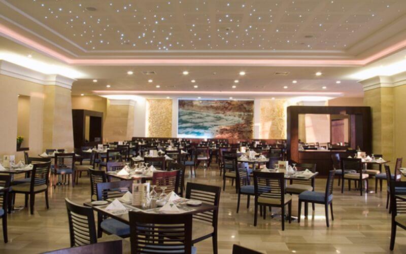ресторан в отеле Dead Sea Spa Hotel 4*, Мертвое море (Иордания)