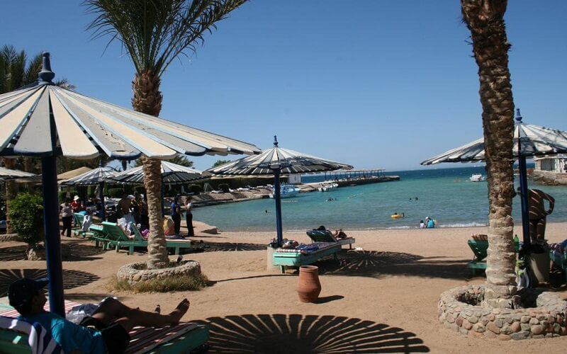 пляж отеля El Geisum Village 2*, Египет, Хургада