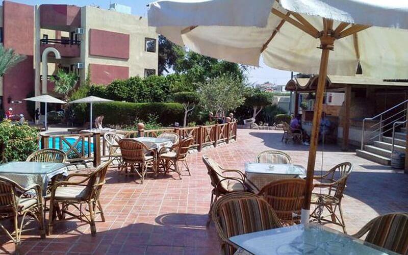 ресторан у готелі El Geisum Village 2*, Хургада, Єгипет