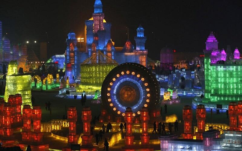 Харбинский фестиваль в Китае