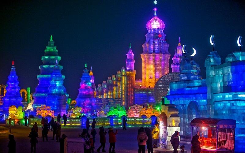 развлечения в Китае зимой