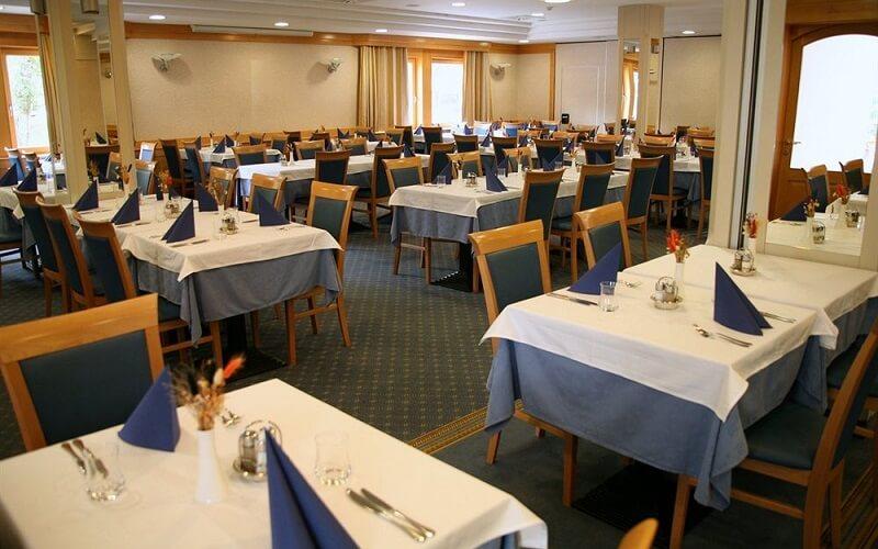 ресторан в отеле Jezero 4*, Бохинь, Словения