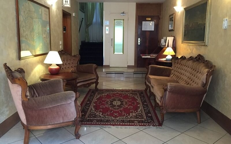 лобби в Malibran Hotel 3*, Венеция, Италия