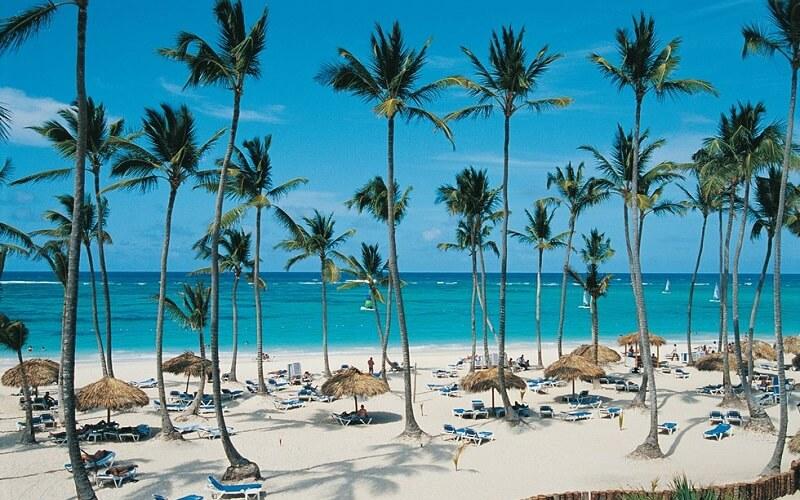 пляж в отеле Occidental Grand Punta Cana 4*, Пунта Кана, Доминикана