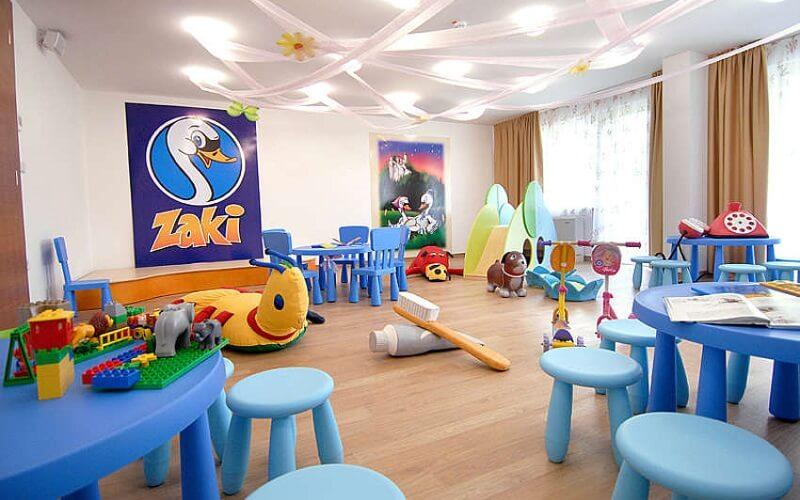 ігрова кімната в готелі Savica 3*, Блед, Словенія