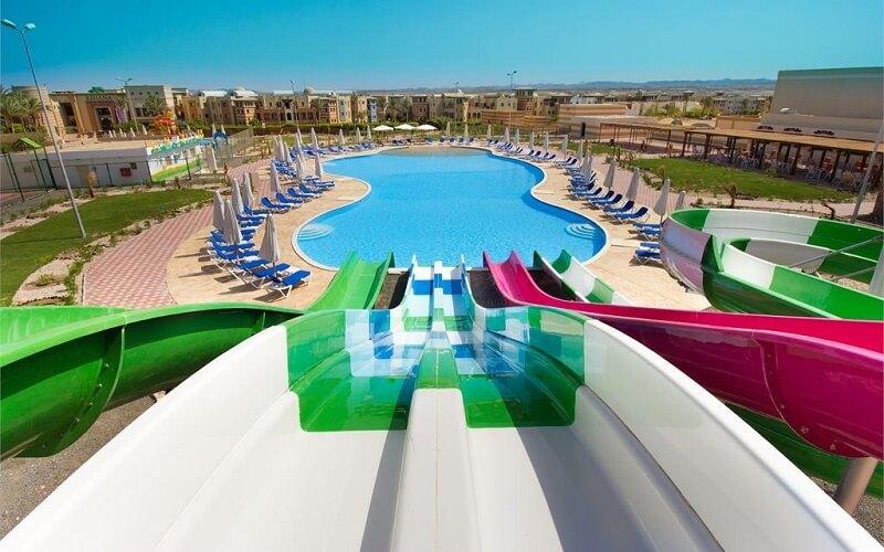 аквапарк в отеле, Египет