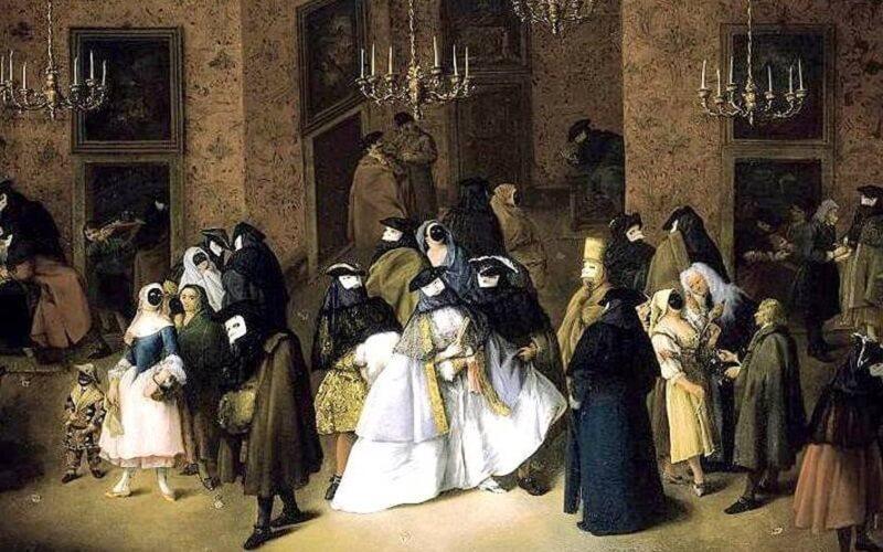 венеціанський карнавал в давнину