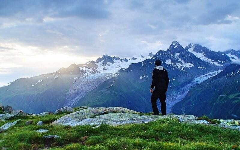 вид горного туризма