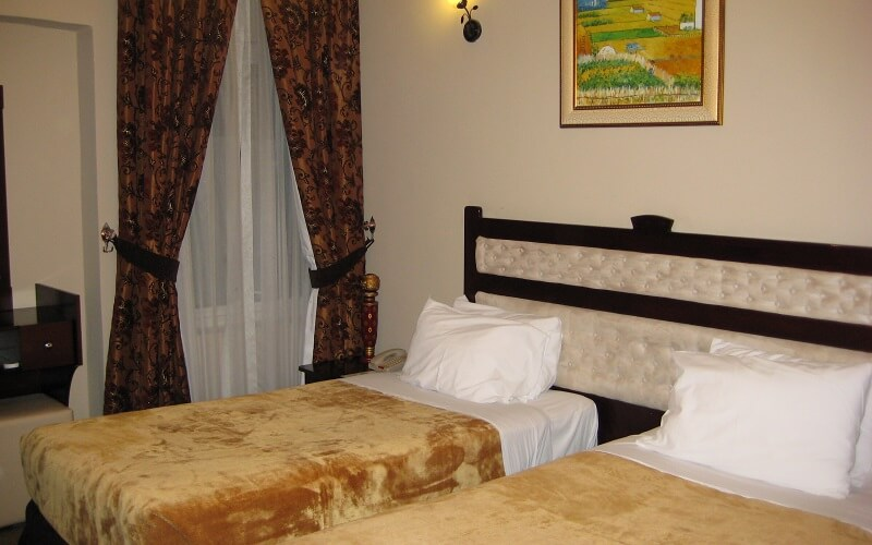 номер в  Al Bustan Tower Hotel Suites 3*, ОАЭ, Шарджа