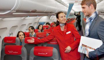 «Австрійські авіалінії» буде літати в Одесу ночами