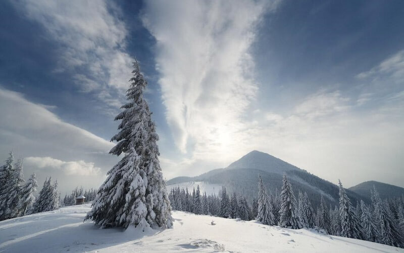 Зимний поход по Горганам