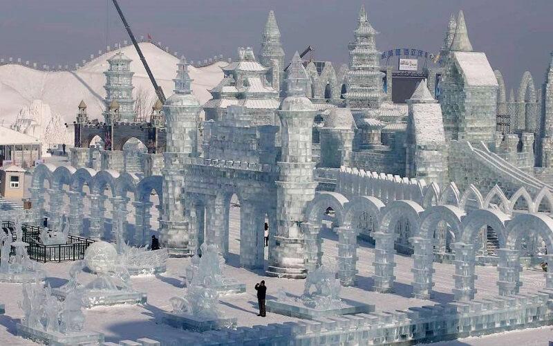 фестиваль льоду в Китаї