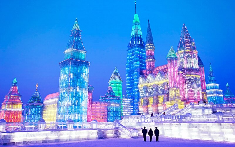 Международный фестиваль ледяных скульптур